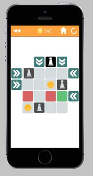 Revenge Of The Pawns - Path finding puzzles apk screenshot