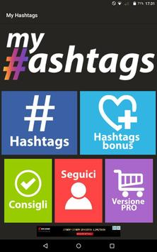 My Hashtags Lite apk screenshot