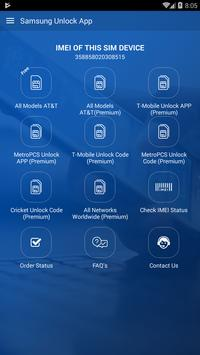 Free Unlock Samsung Mobile SIM poster