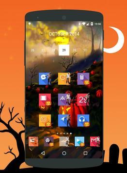 Halloween theme icons apk screenshot