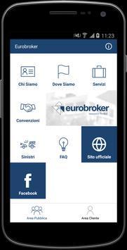 Eurobroker Insurance Broker poster