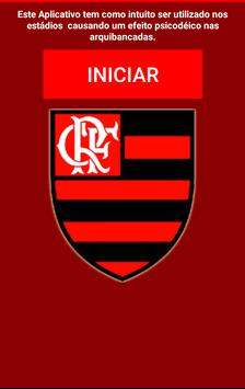 Arquibancada Flamengo poster