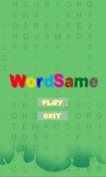 Word Same poster