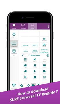 Sure universal smart tv remote control apk download | SURE