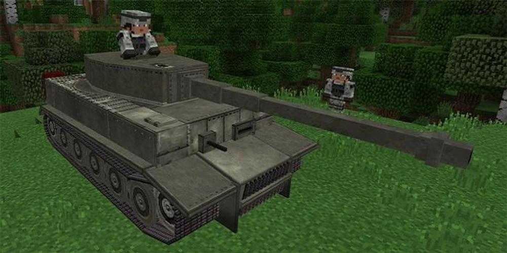 мод на танки майнкрафт #10