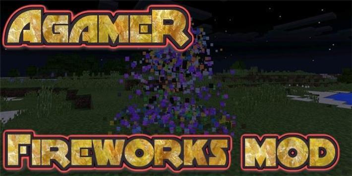 AgameR Fireworks Mod poster