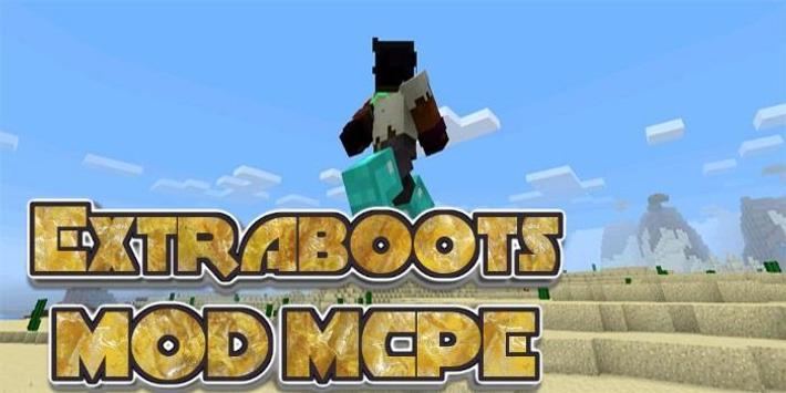 Extraboots MCPE MOD screenshot 1