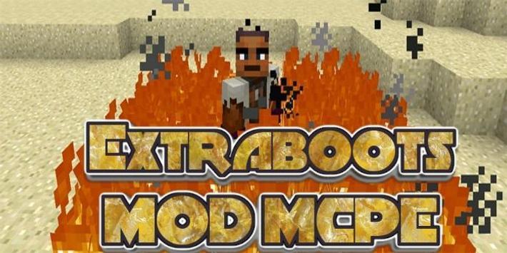 Extraboots MCPE MOD screenshot 2