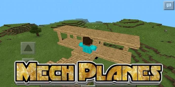 Mech Planes Mod screenshot 1