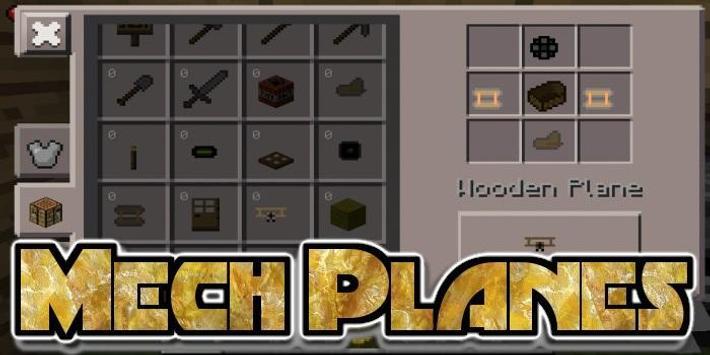Mech Planes Mod screenshot 2