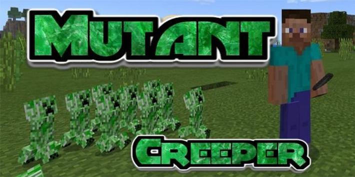 Mutant Creeper Mod poster