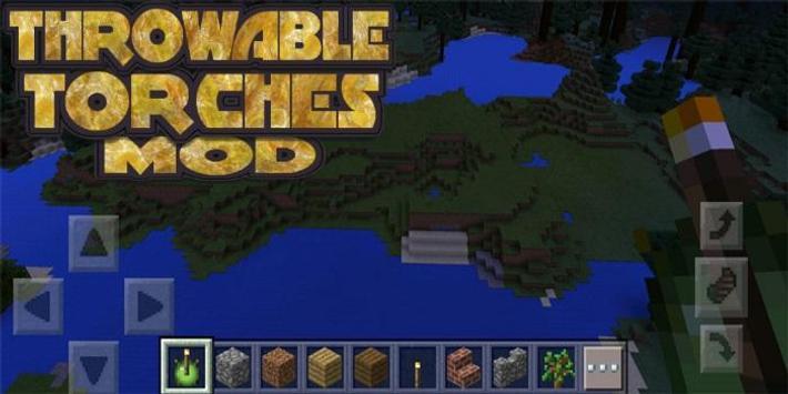 Throwable Torches Mod apk screenshot