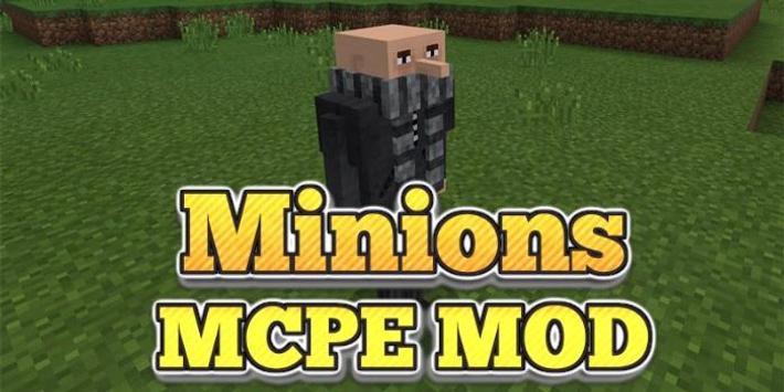 MOD Minions MCPE poster