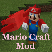 Mod for MCPE Mario Craft icon