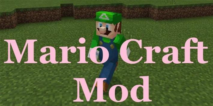 Mod for MCPE Mario Craft poster