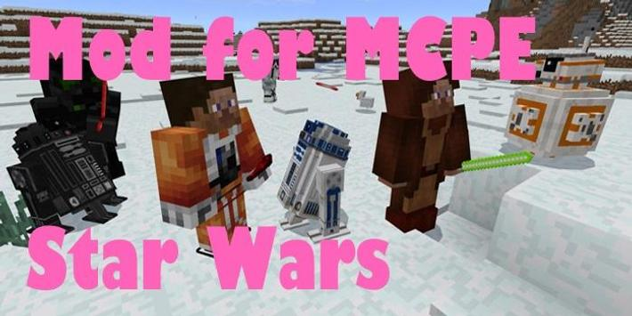 Mod for MCPE Star Wars poster