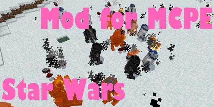 Mod for MCPE Star Wars apk screenshot