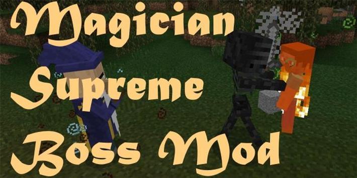 Magician Supreme Boss Mod poster