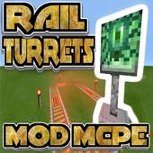 Rail Turrets Mod icon