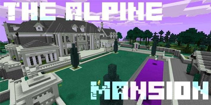 MAP MCPE The Alpine Mansion screenshot 3