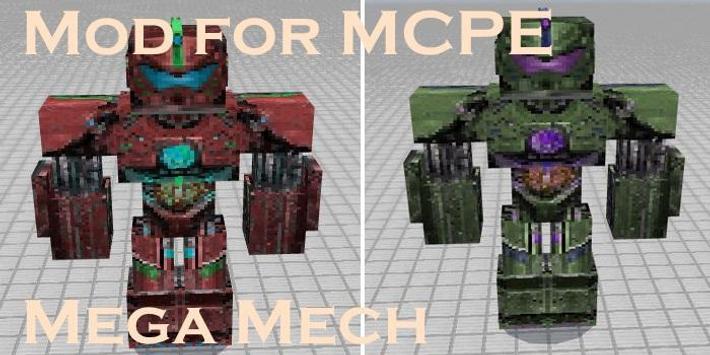 Mod for MCPE Mega Mech screenshot 1