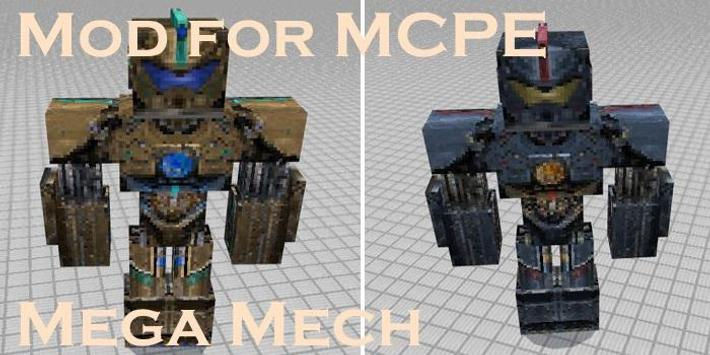 Mod for MCPE Mega Mech screenshot 2