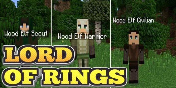 Mod PE  Lord of Rings apk screenshot