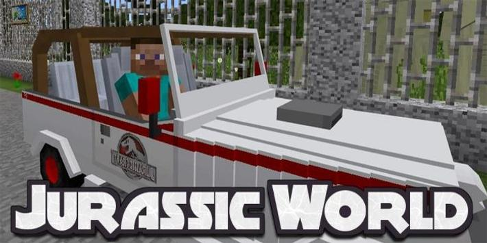 Adventure in Jurassic World MOD MCPE for Android - APK Download