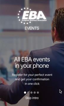 EBA Events poster