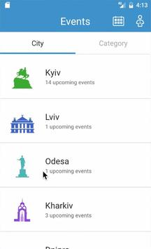 EBA Events screenshot 1