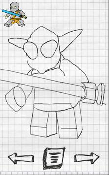 Draw star heroes on the steps apk screenshot