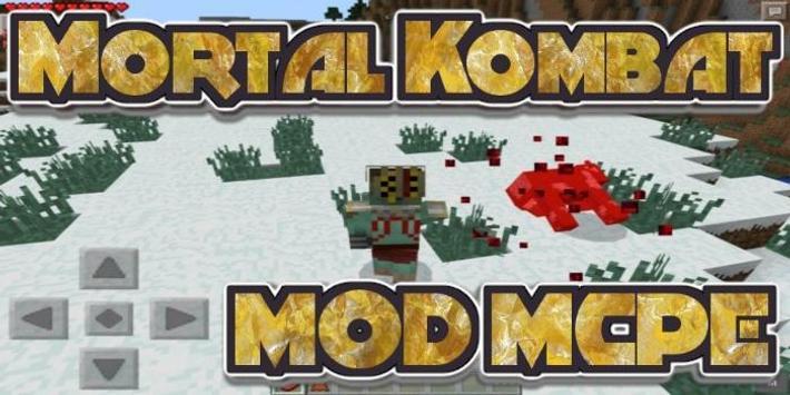 MOD for MCPE Mortal Kombat poster