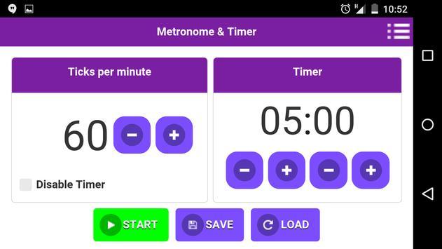 Metronome & Timer apk screenshot