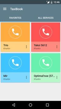 TaxiBook - all Ukrainian taxi poster