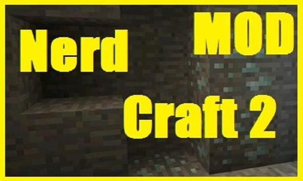 NerdCraft 2 Mod poster
