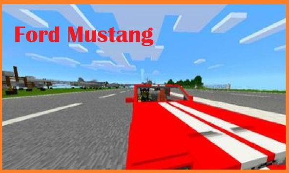 Sports Car  Mustang Addon MCPE apk screenshot