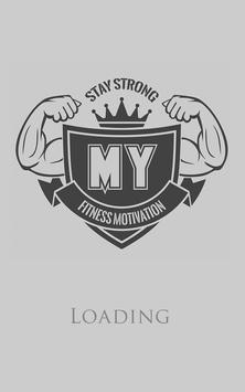 My Fitness Motivation poster