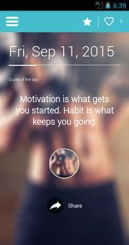 My Fitness Motivation screenshot 1
