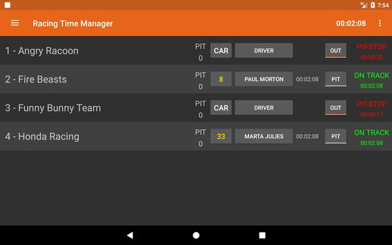 Racing Time Manager screenshot 11