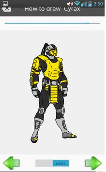 How To Draw Mortal Kombat X apk screenshot
