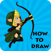 How to Draw Castle Clash icon