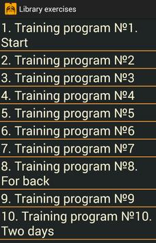 Exercises for gym Ekran Görüntüsü 5