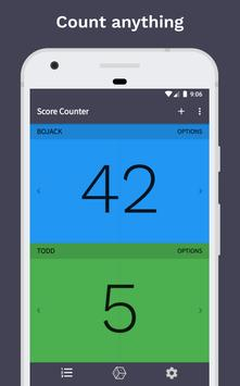 Score Counter + Dice poster