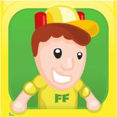 Football fun: France 2016 icon