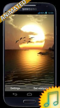 Nature Sea Sunset Wallpaper apk screenshot
