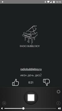 Radio Bubble Boy poster