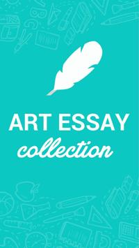 Art essay collection poster