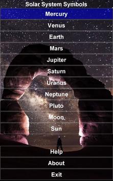 Solar System Symbols Free screenshot 8