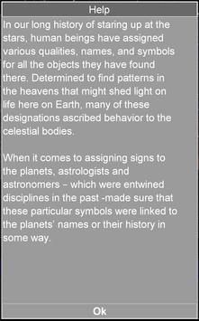Solar System Symbols Free screenshot 2