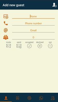 Guest List screenshot 2